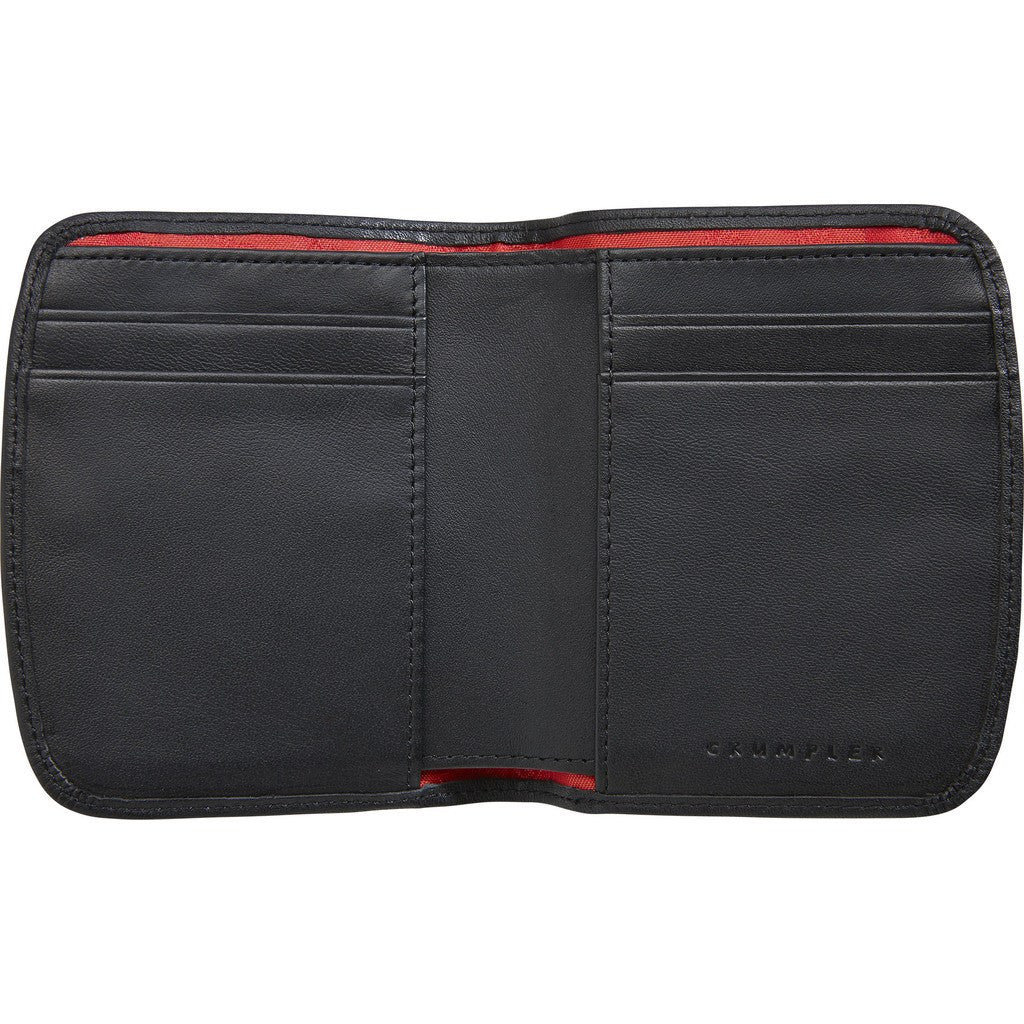 Crumpler Golden Fleece Leather Billfold Wallet | Black GFD001-B00000