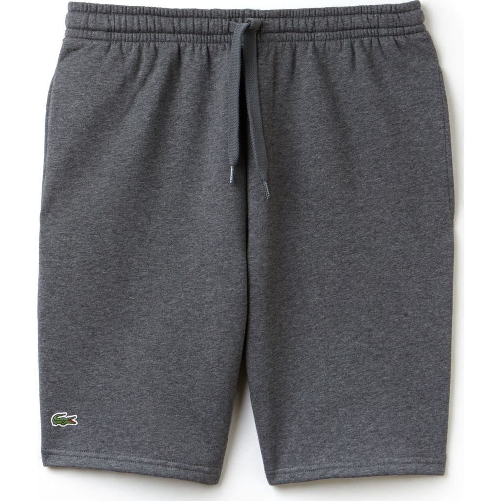 ad0a0782e043e2 Lacoste Sport Men s Fleece Tennis Shorts in Pitch Gray - Sportique