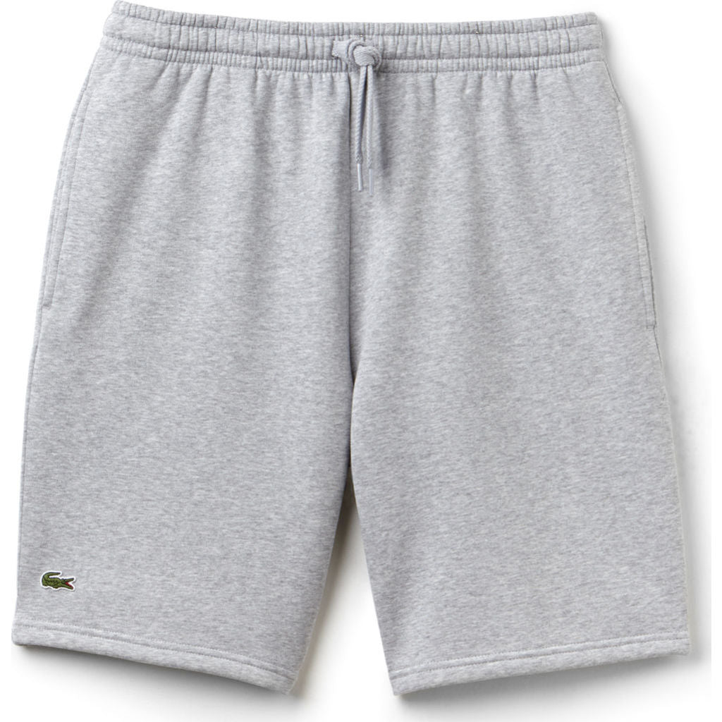 08880d017633ca Lacoste Sport Men s Fleece Tennis Shorts in Silver Chine - Sportique