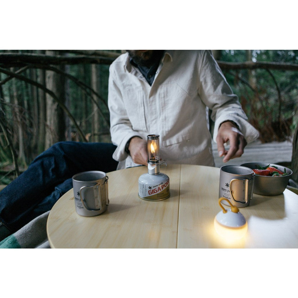 Snow Peak Mini Flame Light | White GL-140-US
