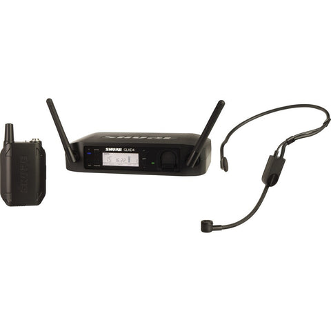 Shure GLXD14 Wireless Headset System with PGA31 Microphone| Black