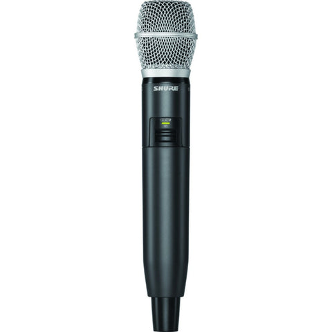 Shure GLXD2/SM86 Handheld Transmitter with SM86 Microphone | Black/Silver