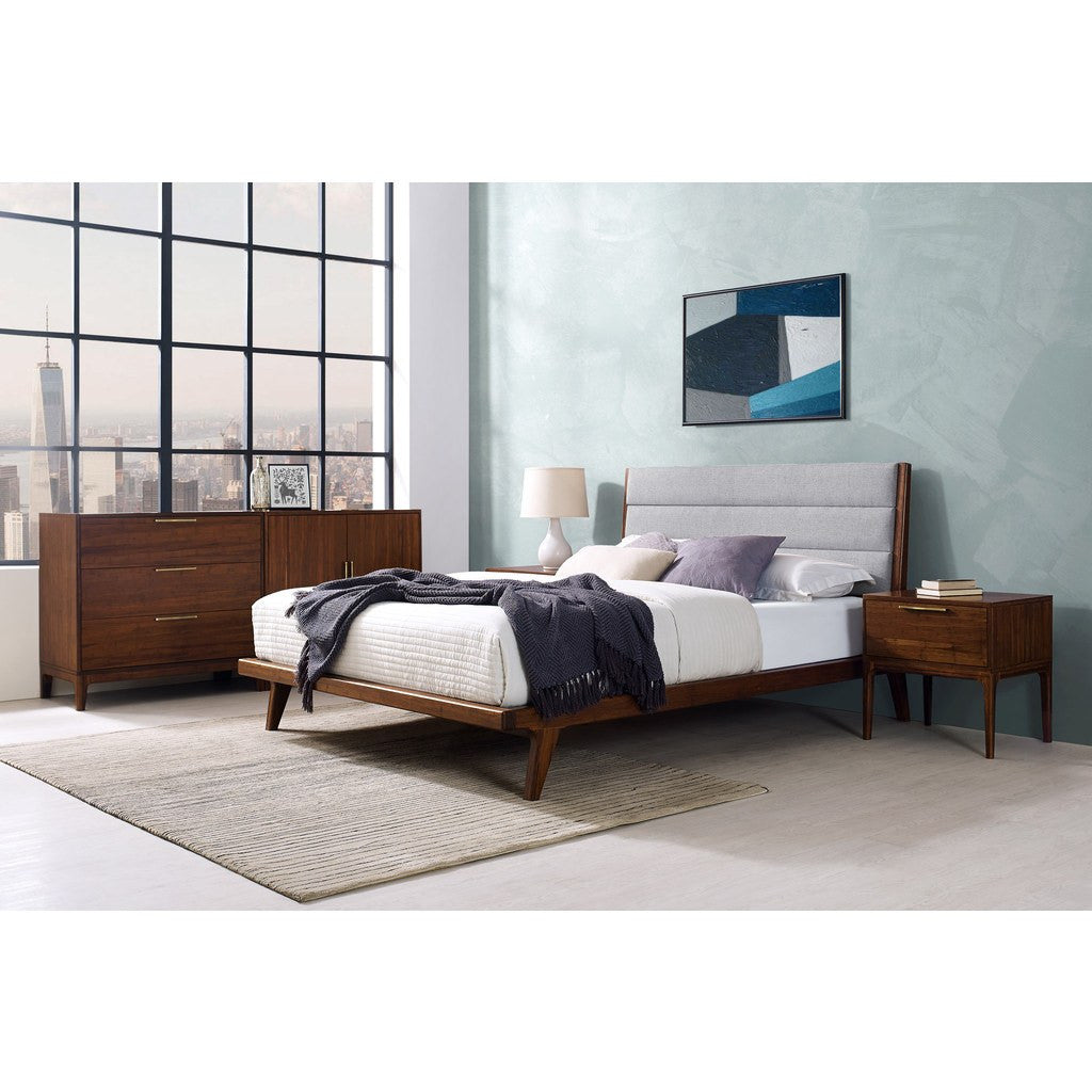 Greenington Mercury Upholstered Queen Bed | Exotic GM001E