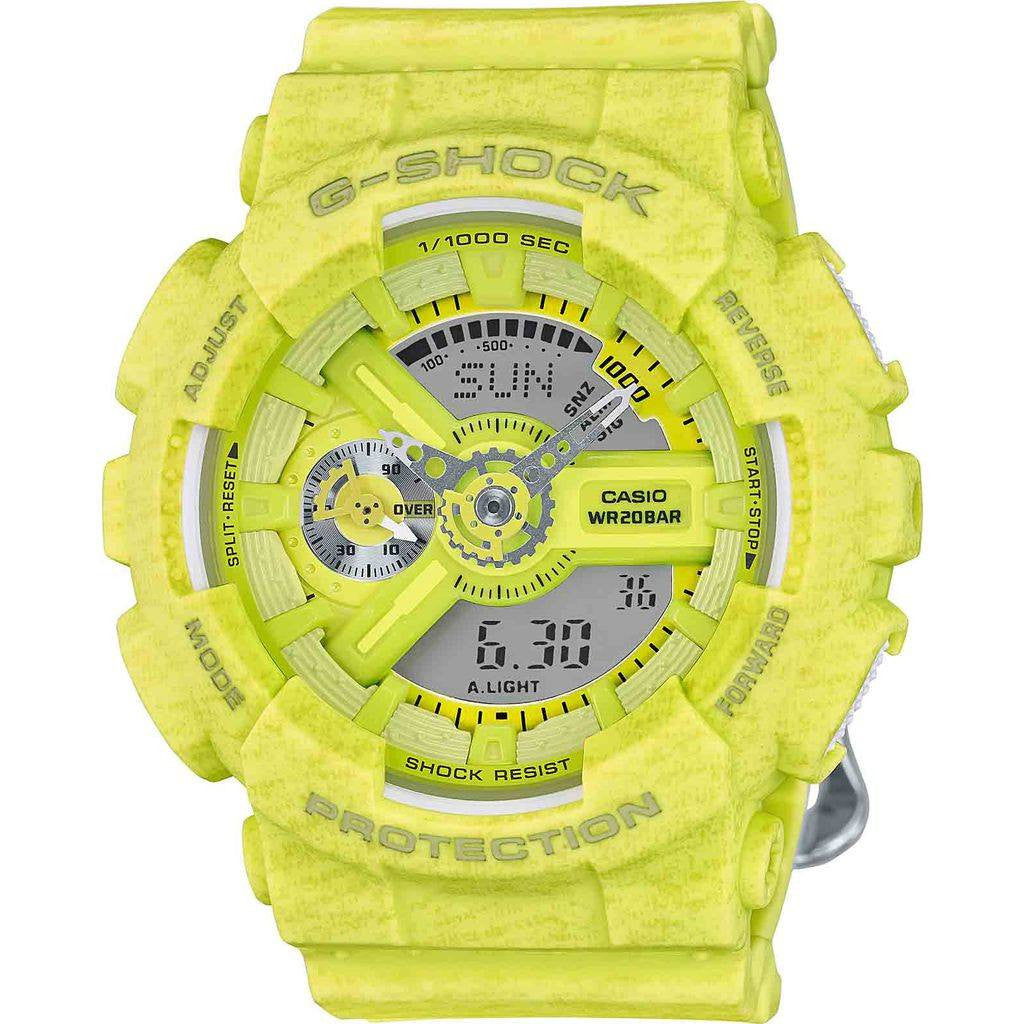 Casio G-Shock S Series GMAS110HT-9A Watch | Heather Yellow