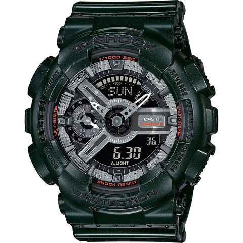Casio G-Shock S Series GMAS110MC-3ACR Watch | Dart Metallic Green