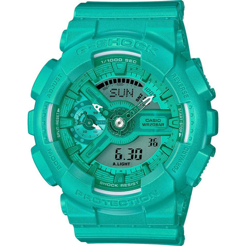 Casio G-Shock S Series GMAS110VC-3ACR Watch | Bright Vivid Light Teal