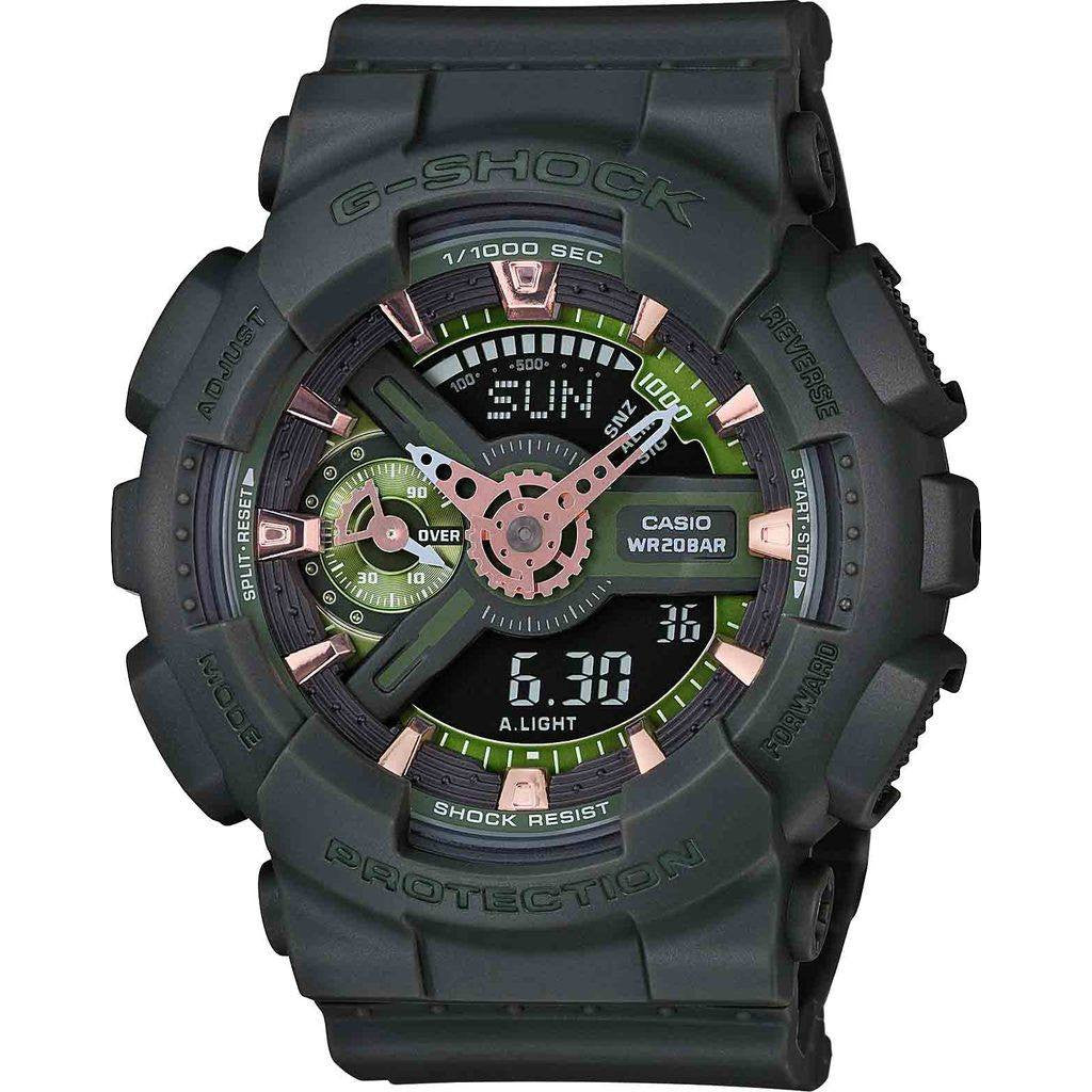 Casio G-Shock G-Shock S-Series GMA-S110CM-3A Watch | Black