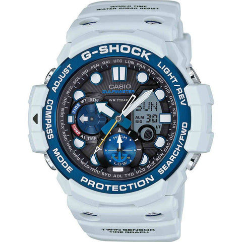 Casio G-Shock Gulfmaster GN-1000C-8ACR Watch | White/Blue