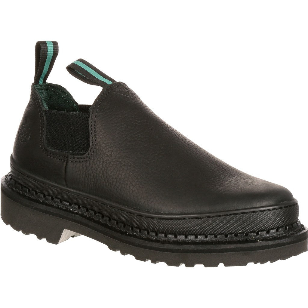 GR270 - Georgia Giant Romeo Work Shoe Medium |Black
