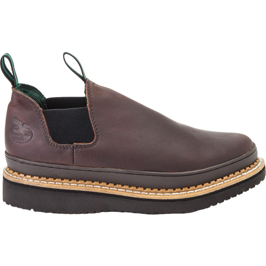 GR274 - Georgia Giant Wedge Romeo Work Shoe Medium | Brown