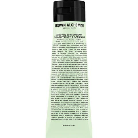 Grown Alchemist Purifying Body Exfoliant | Pearl/Peppermint/Ylang Ylang GRA0042 170 ml