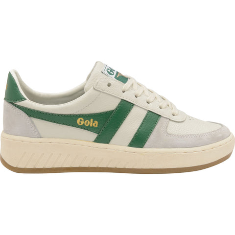Gola Mens Grandslam Ô78 Sneakers | Off White/Baltic/Gum- CMA565-Size 13
