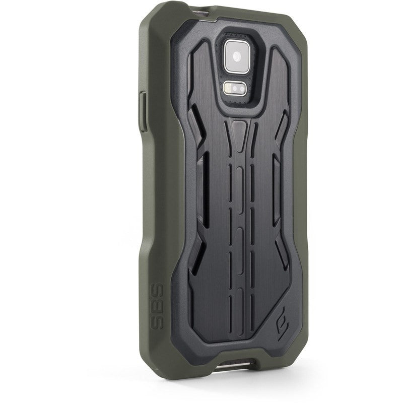 ElementCase Recon Black Ops Pro Aluminum Samsung Galaxy S5 Case Green/Black