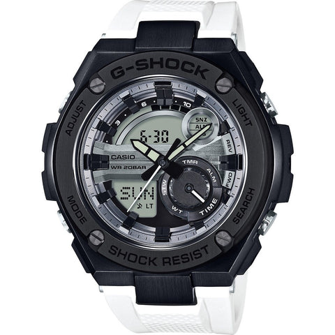 Casio G-Shock G-Steel 2nd Gen 3D GST210B-7ACR Watch |  White/Black