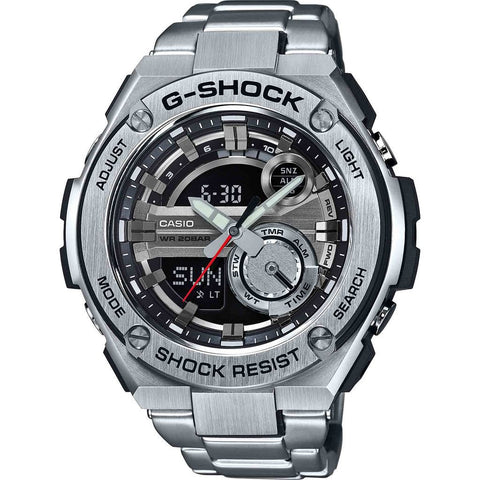 Casio G-Shock GST-210D-1ACR Watch | Silver