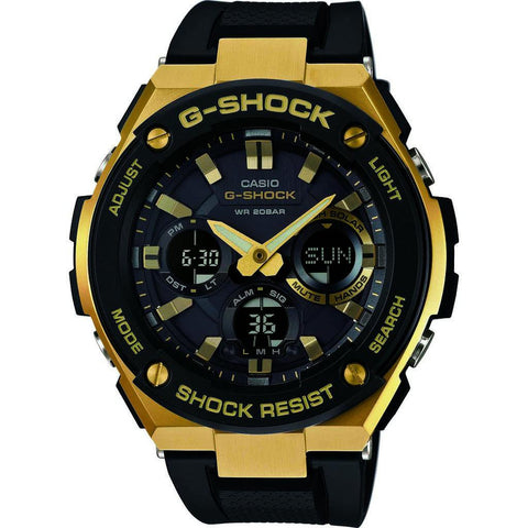 Casio G-Shock G-Steel GST-S100G-1ACR Watch | Black/Gold