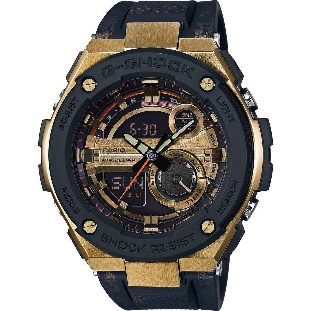 Casio G-Shock GST-200CP-9A Watch | Black/Gold
