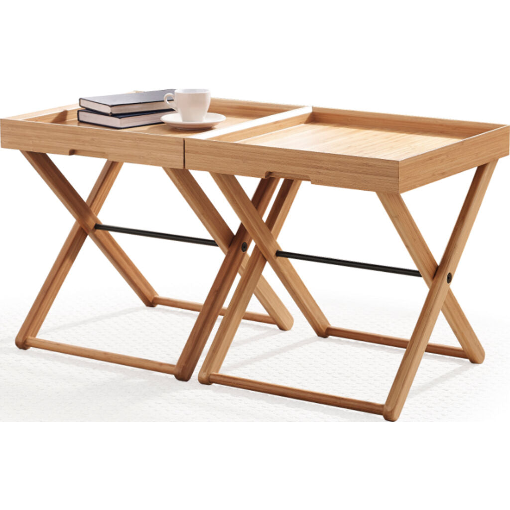 Teline Tray Table - Caramelized