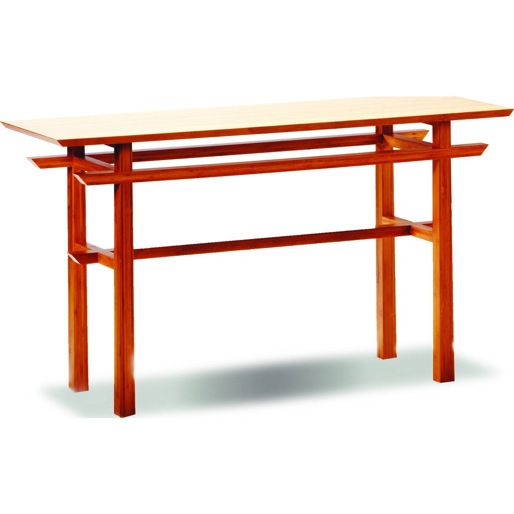 Greenington Lotus Console Table | Caramelized GT0605