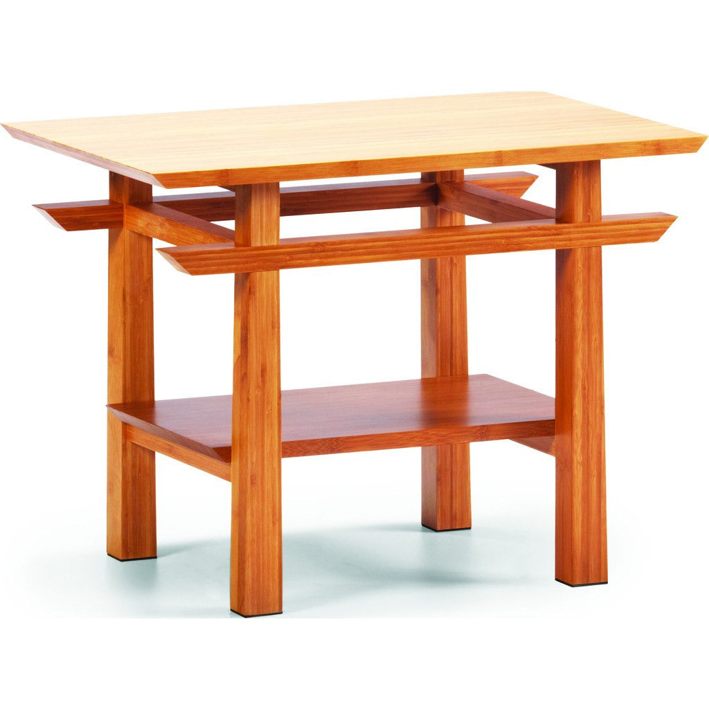 Greenington Lotus End Table | Caramelized GT0607
