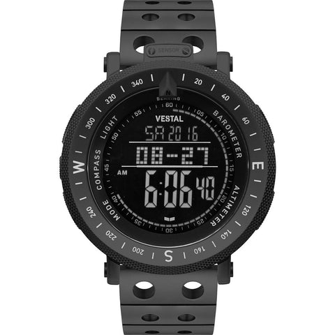 Vestal Guide Metal Watch | Black/Black/Negative/Destroyer