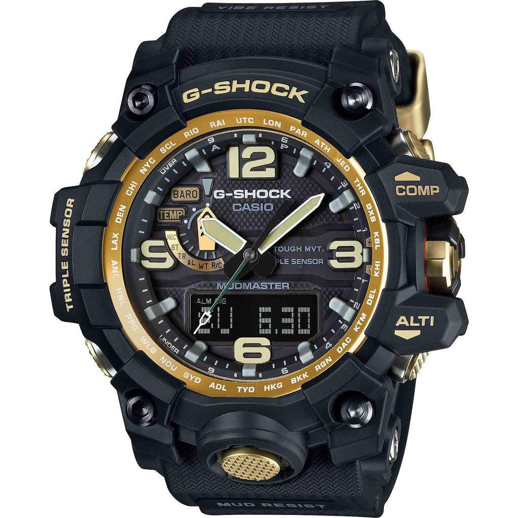 Casio G-Shock Master of Gravity GWG1000GB-1A Watch | Black/Gold