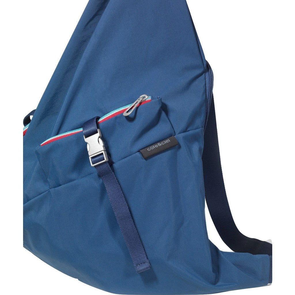 Cote&Ciel Ganges Medium Nylon Backpack | Cobalt Blue 28486
