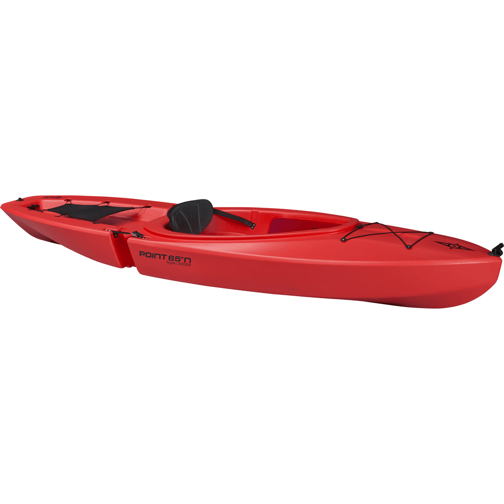 Point 65 Gemini Modular Kayak Solo | Red