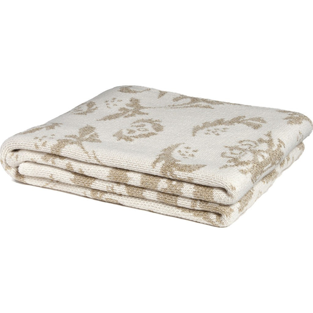 in2green Dragons Eco Throw | Milk/Gold BL01DR2