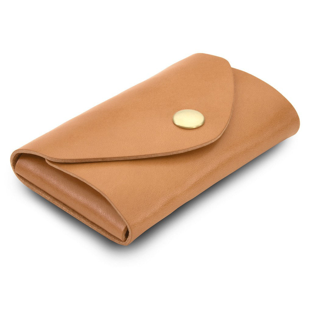 Ezra Arthur Snap Pouch Wallet | Golden Tan EDC218