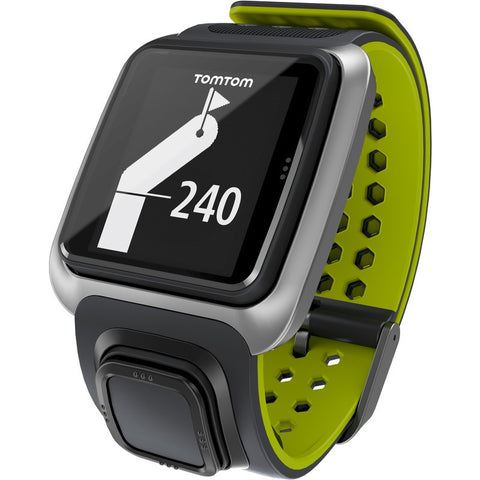 TomTom Golfer GPS Watch Dark Grey/Green | 1RG000100