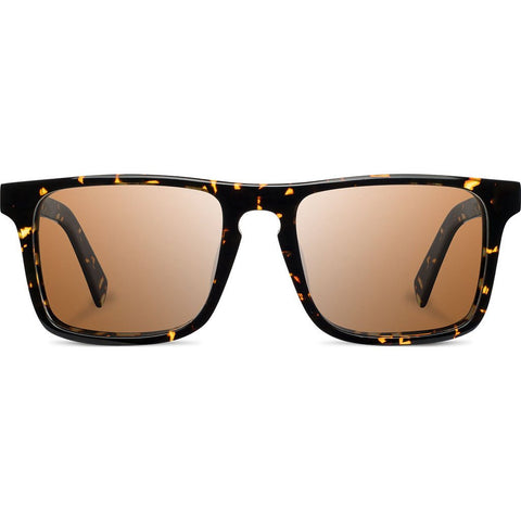 Shwood Govy 2 Acetate Sunglasses | Dark Speckle/Elm Burl - Brown WAGDSELB