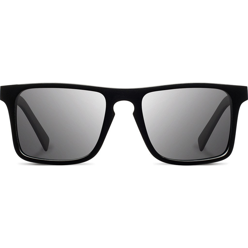 Shwood Govy 2 Acetate Sunglasses | Black & Maple Burl / Grey Polarized WAGBMAGP