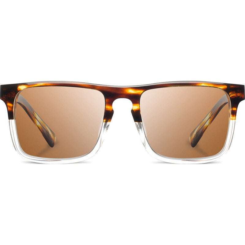 Shwood Govy 2 Acetate Sunglasses | Whiskey Soda & Mahogany / Brown Polarized