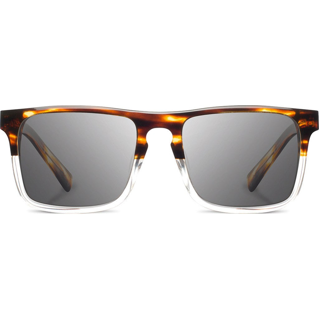 Shwood Govy 2 Acetate Sunglasses | Whiskey Soda & Mahogany Burl / Grey