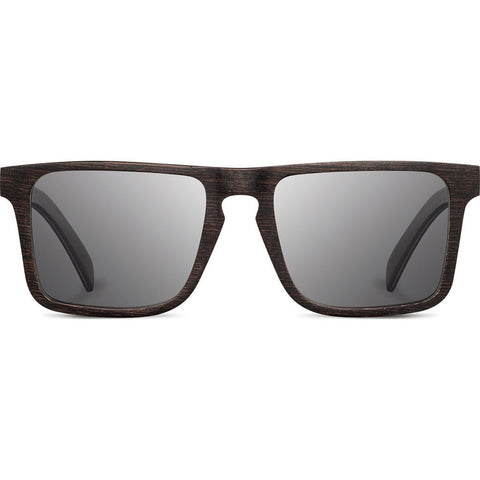 Shwood Govy 2 Wood Sunglasses | Dark Walnut - Grey WOG2DWG
