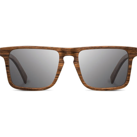 Shwood Govy 2 Wood Sunglasses | Walnut - Grey WOG2WG