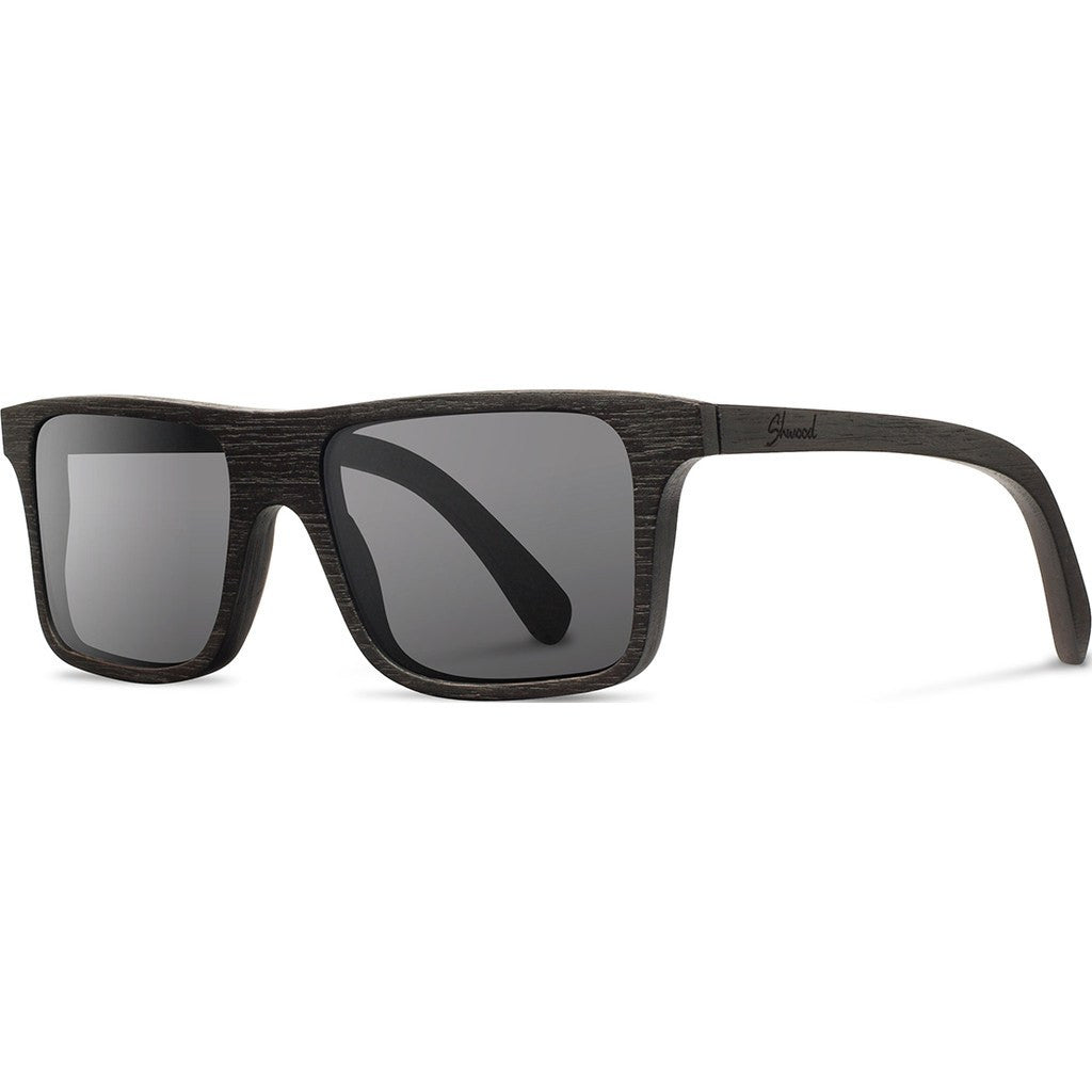 Shwood Govy Original Sunglasses | Dark Walnut / Grey WOGDWG
