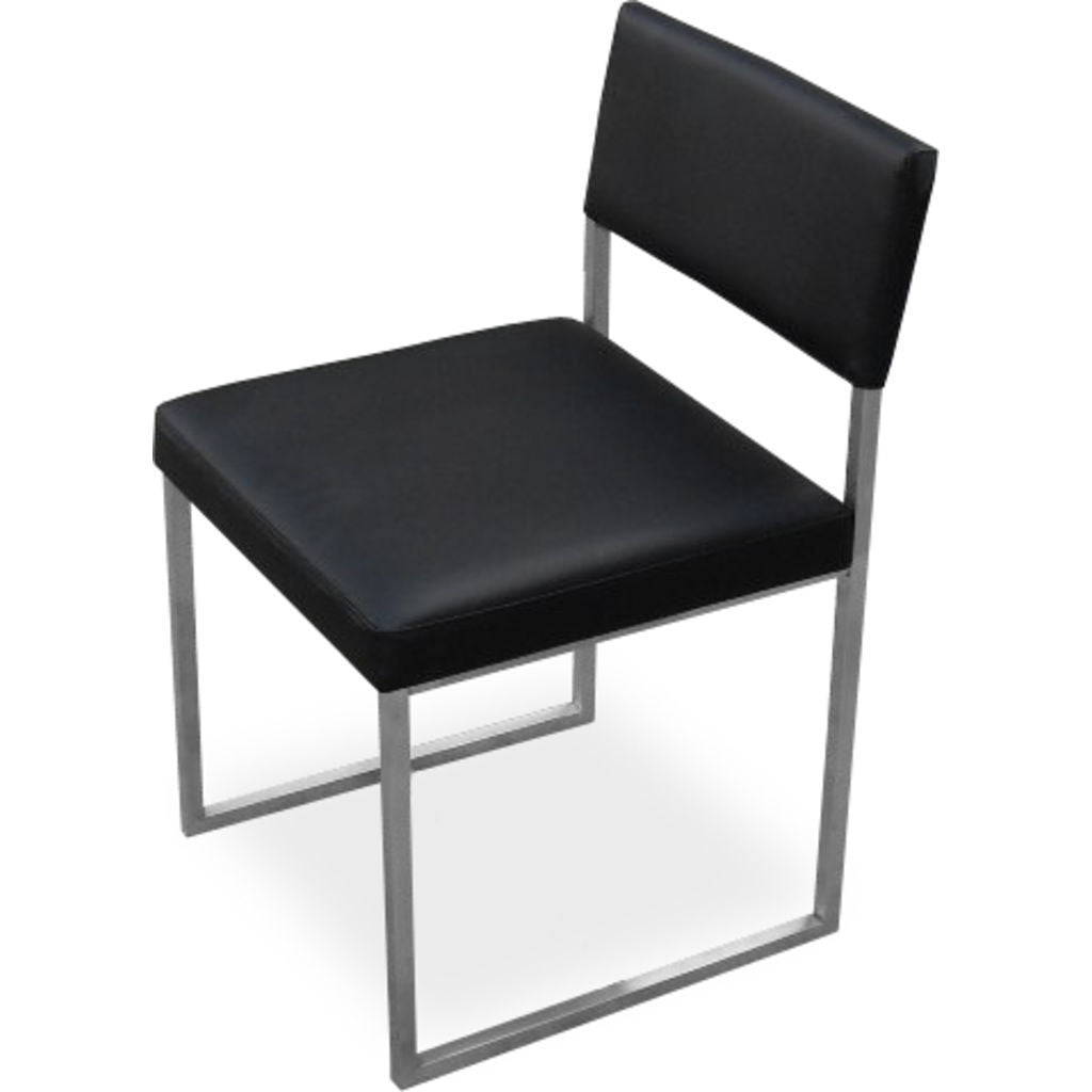 Gus* Modern Graph Chair | Vinyl Coal ECCHGRAP-vc