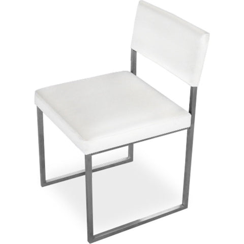 Gus* Modern Graph Chair | Vinyl Snow ECCHGRAP-vs