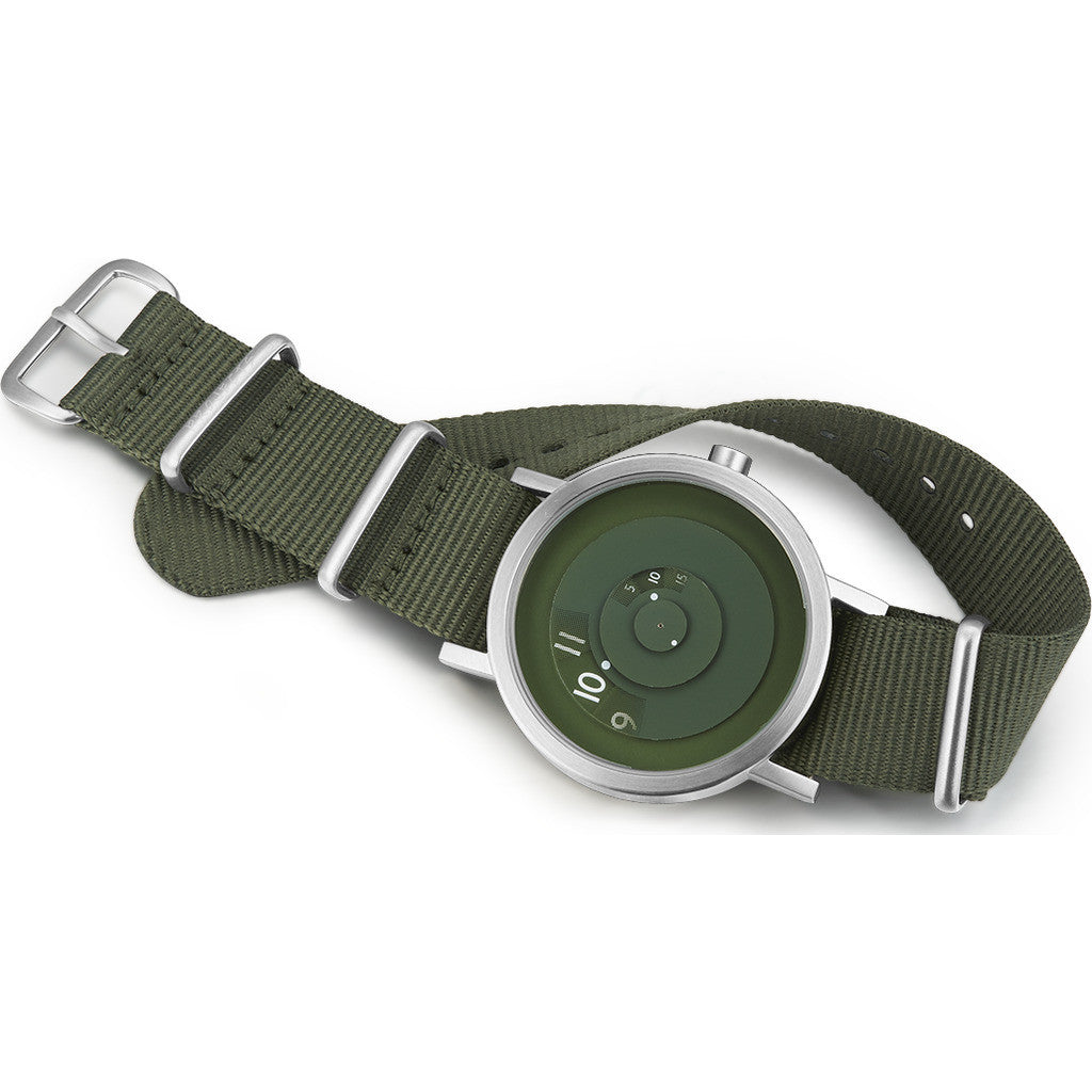 Projects Watches Green Reveal Watch | Green/Nato Nylon