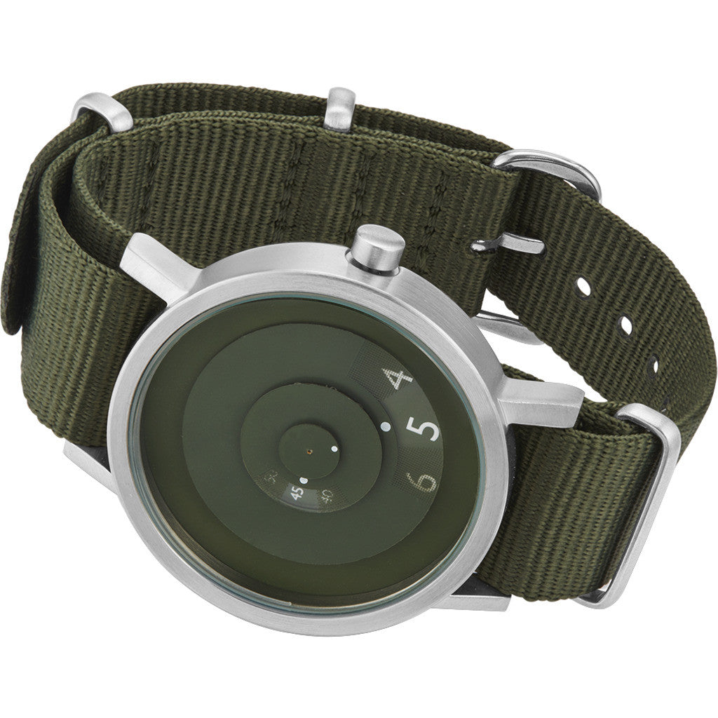 Projects Watches Green Reveal Watch | Green/Nato Nylon-7203 VN-40
