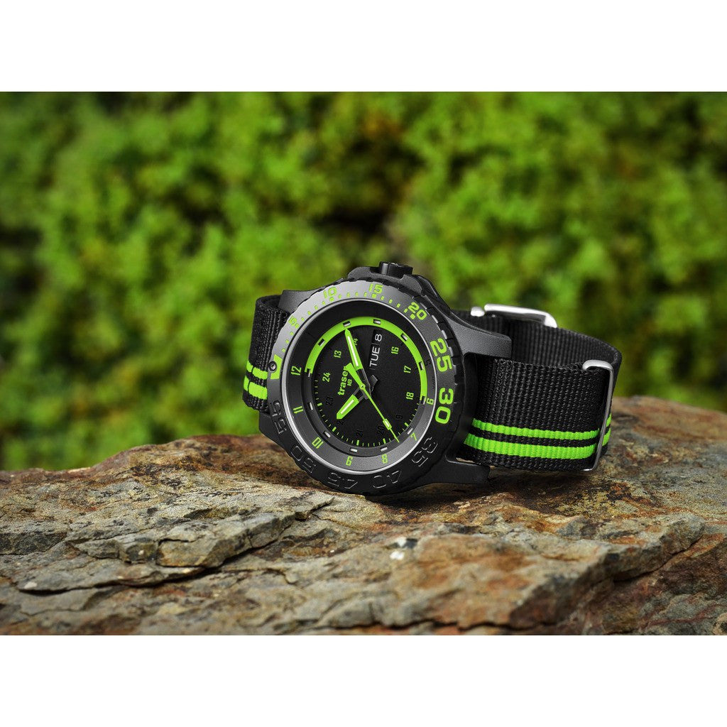traser H3 Green Spirit Watch | Textile strap 105542