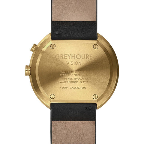 Greyhours Vision Classic Watch | Gold VISIONGOLD