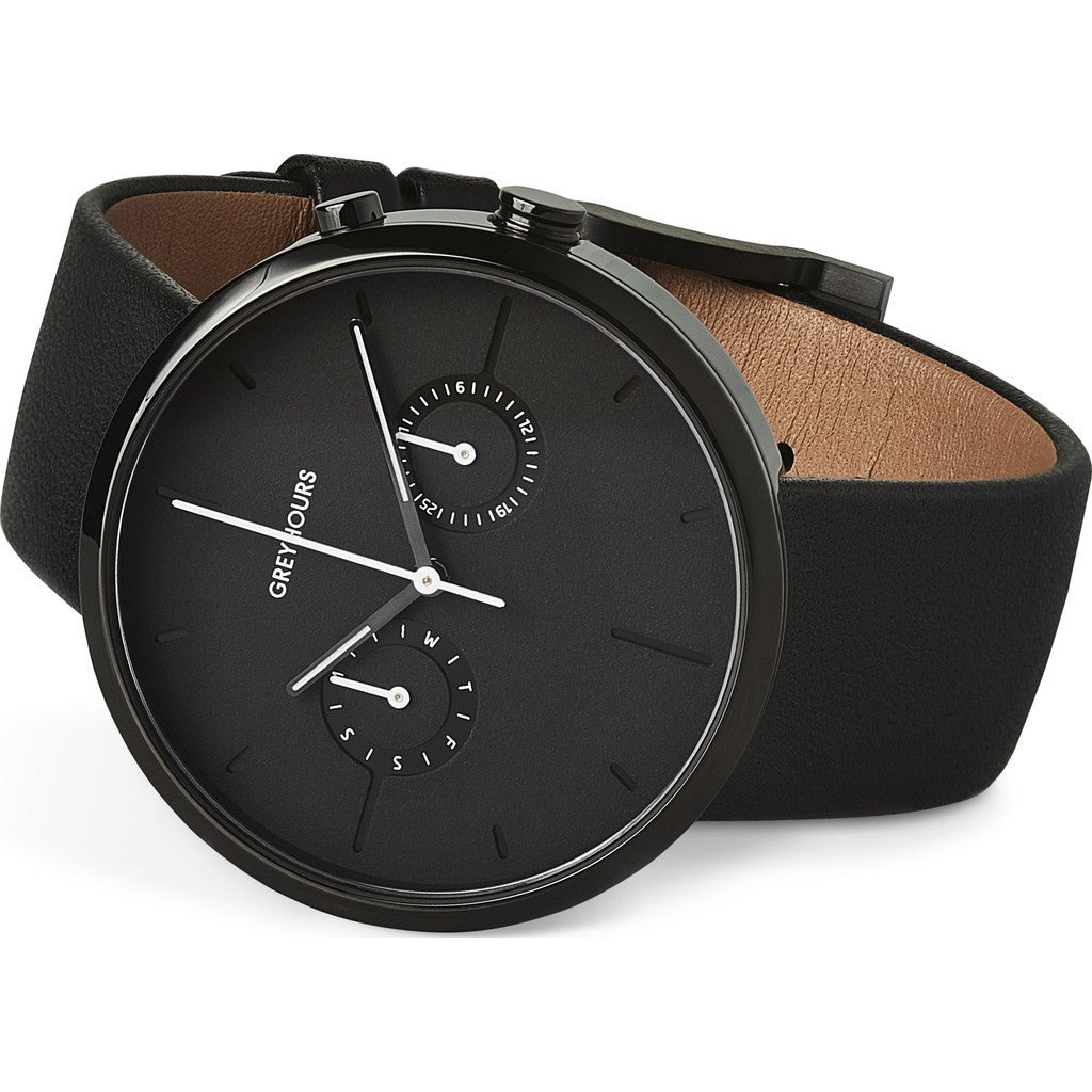 Greyhours Vision Shine Watch | Carbon Black VISION DARK