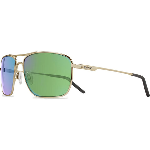 Revo Eyewear Groundspeed Gold Sunglasses | Green Water RE 3089GF 02 GN