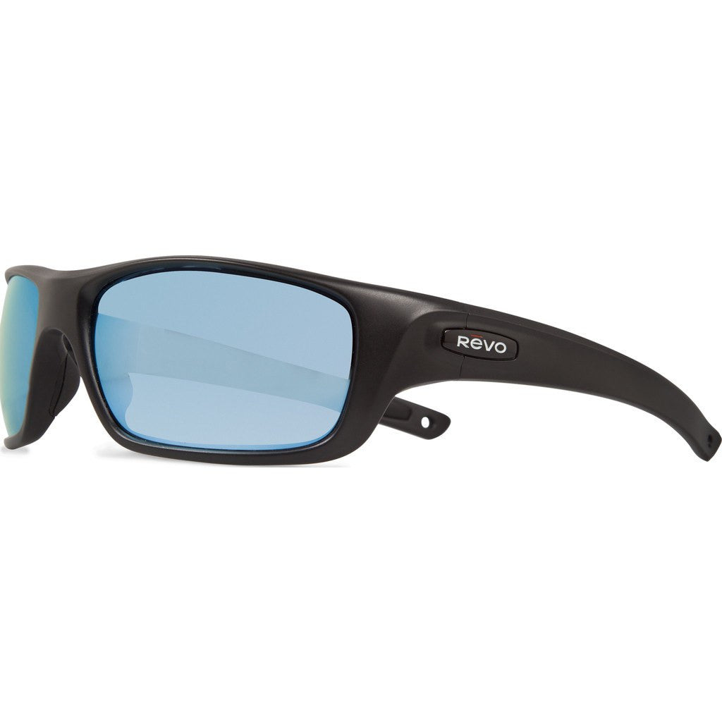 Revo Eyewear Guide II Matte Black Sunglasses | Blue Water RE 4073 11 BL