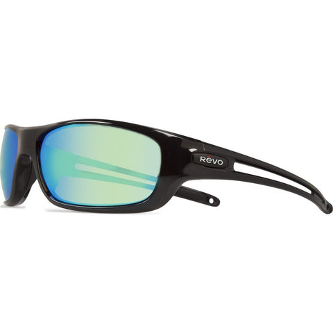 Revo Eyewear Guide S Black Sunglasses | Green Water RE 4070 01 GN