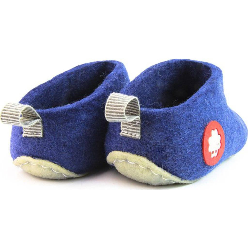 Baabuk Gus Wool Slippers | Royal Blue 37 GUS02-BL1-R-37