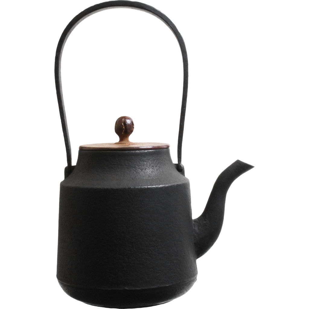 Oigen Tsuzumi Kettle | Black OF-H281
